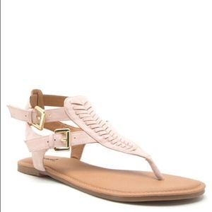 Shoes - RILEY  Boho Sandal - NUDE